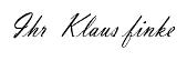 Unterschrift in Mobile Pferdewaage Klaus Finke